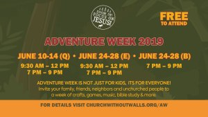 Vacation Bible School at The Church Without Walls
