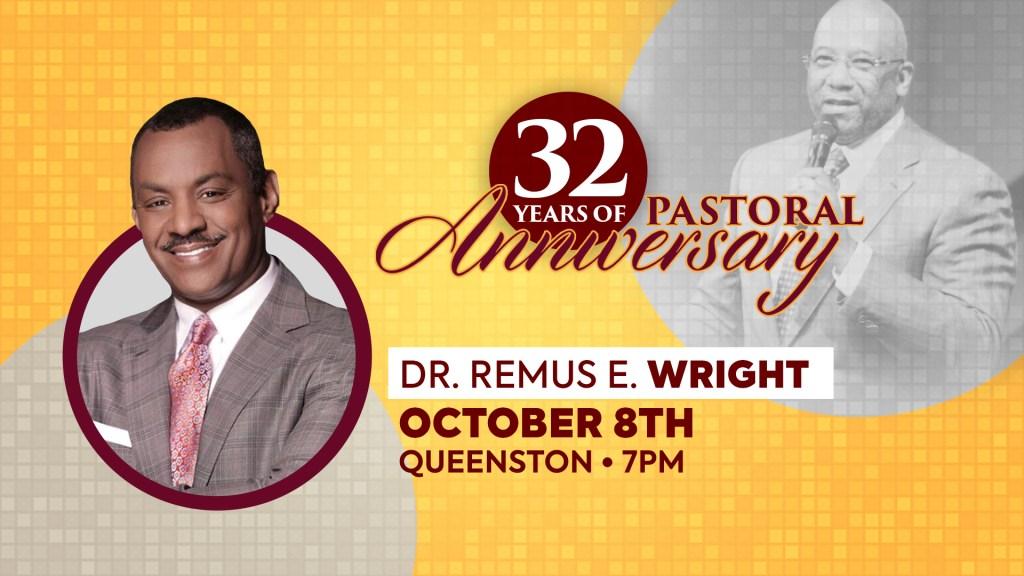Ralph Douglas West 32nd Pastoral Anniversary