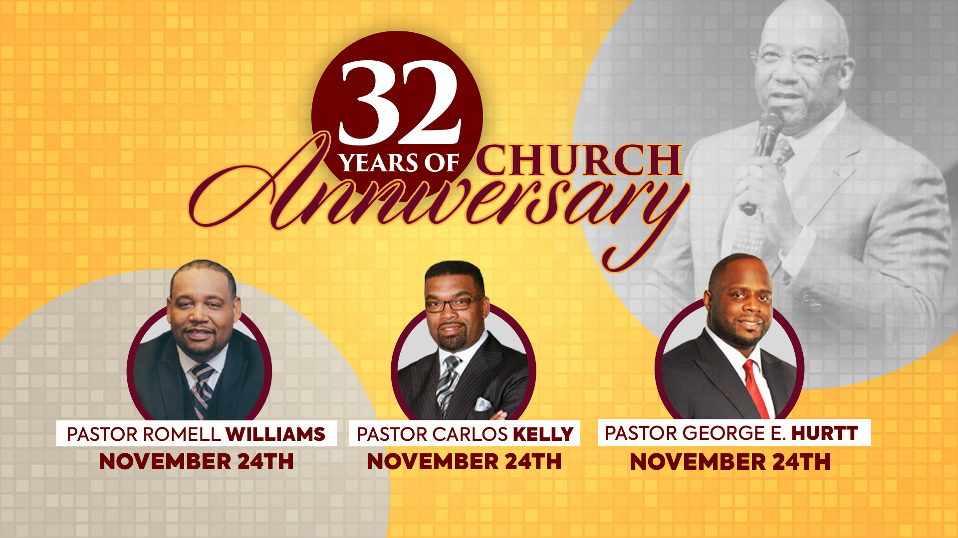 32nd Church Anniversary