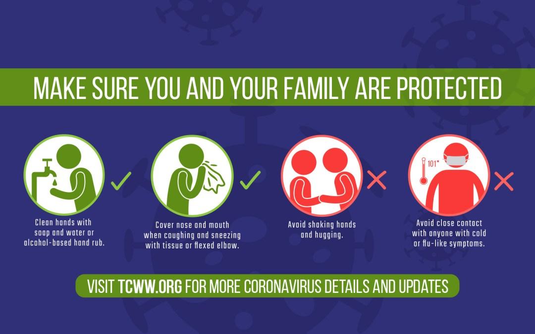 A Message Regarding The Coronavirus