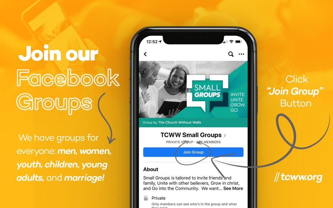 TCWW Facebook Groups