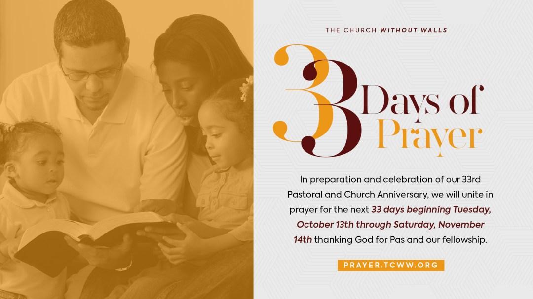 33 Days of Prayer