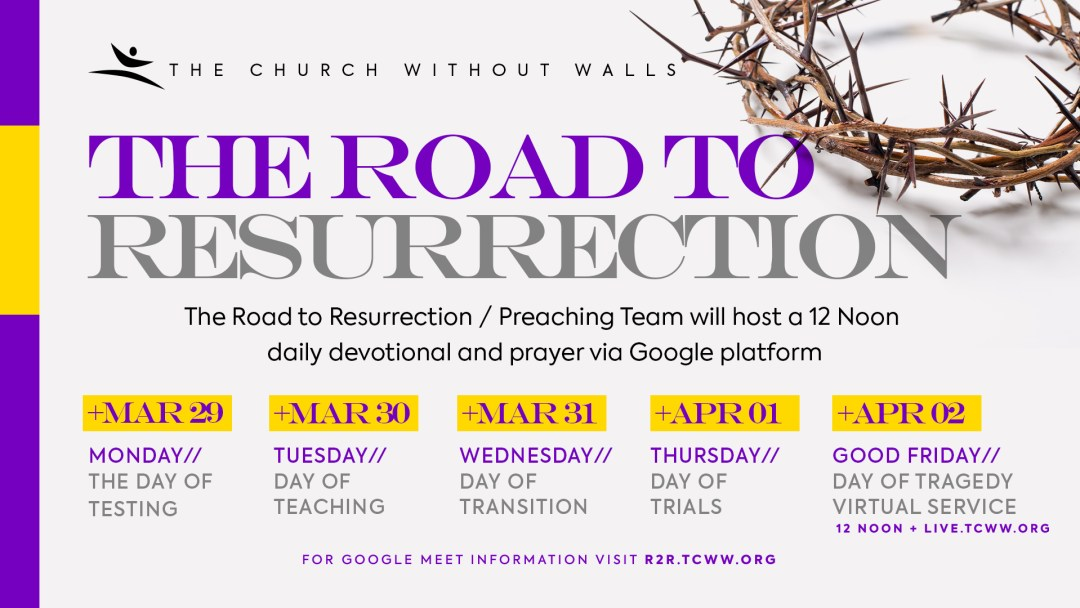 Road to Resurrection 2021
