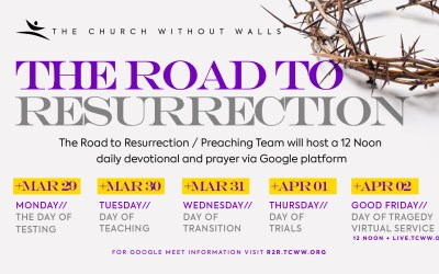 Join TCWW on The Road to Resurrection