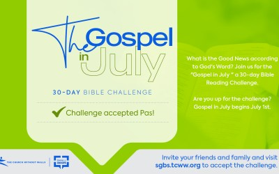 Do You Accept the Challenge? 30 Day Bible Reading Challenge