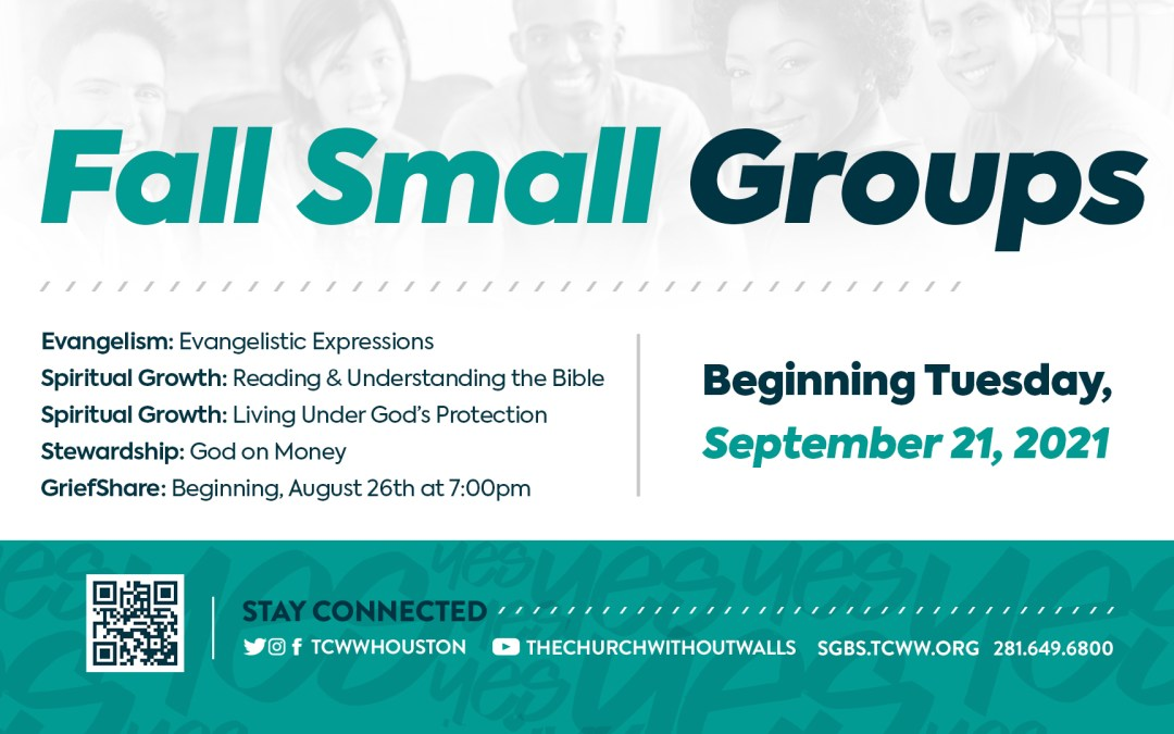 Get Connected & Grow Spiritually – Join a Small Group Today