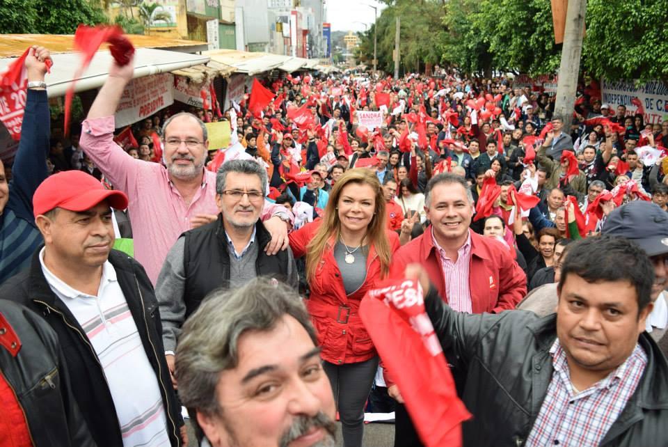 sandra rojo 11