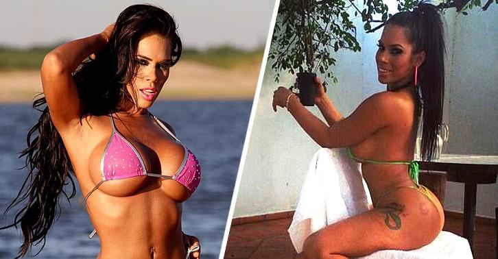 Escándalo! Difunden vídeo de la vedette Gaby del Campo sacándose la ropa.