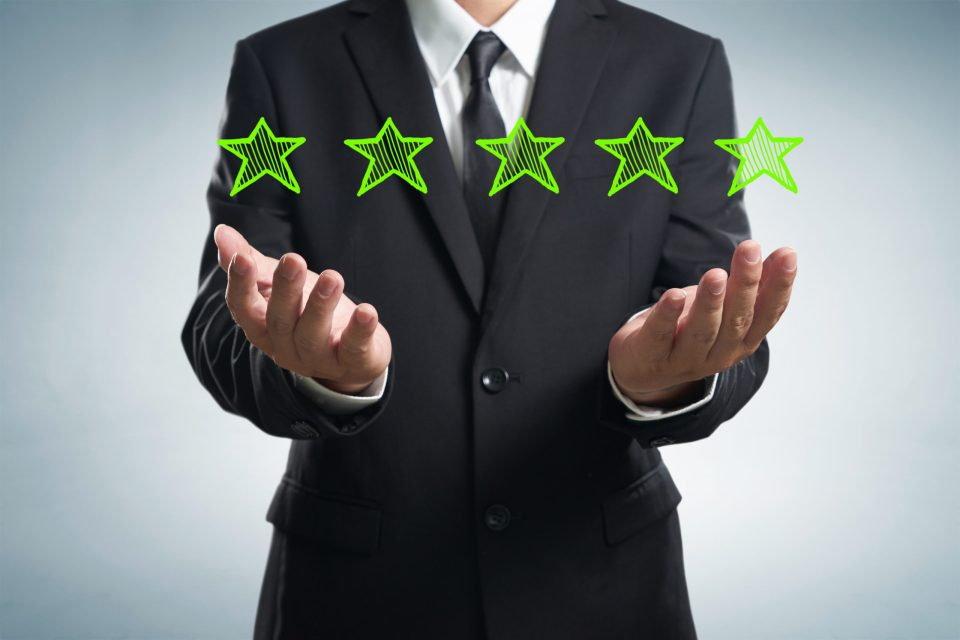nps customer success five star rating