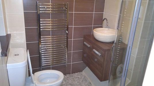 Small bathroom project