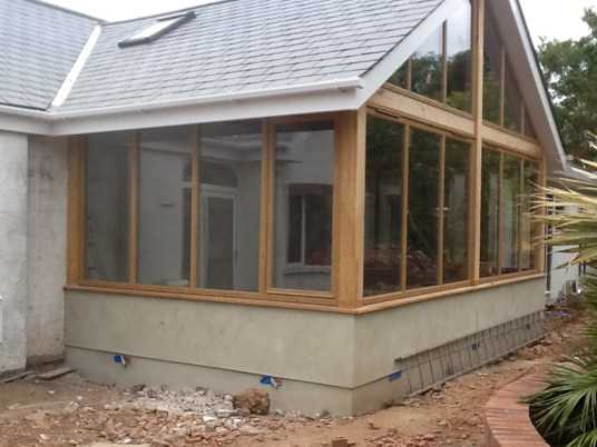 Landscaping and extension Brixham 10