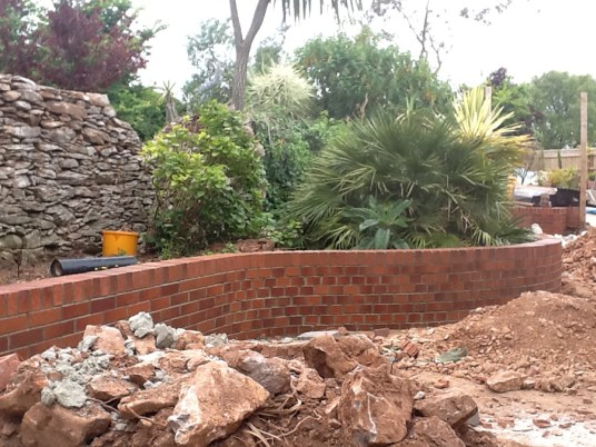 Landscaping and extension Brixham 11