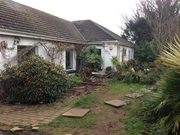 Landscaping and extension Brixham 2