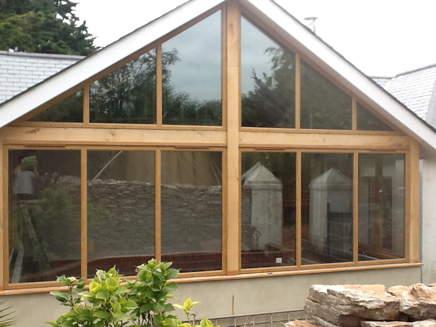 Landscaping and extension Brixham 9