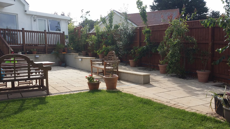 Landscaping and extension Brixham 22