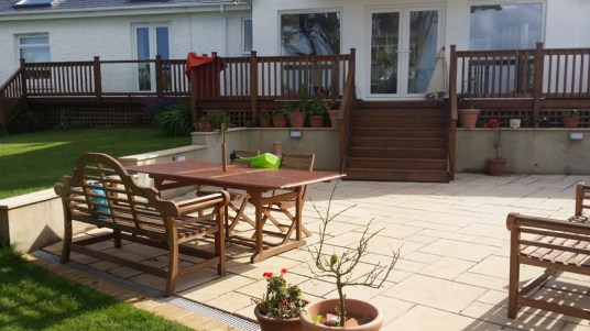 Landscaping and extension Brixham 24