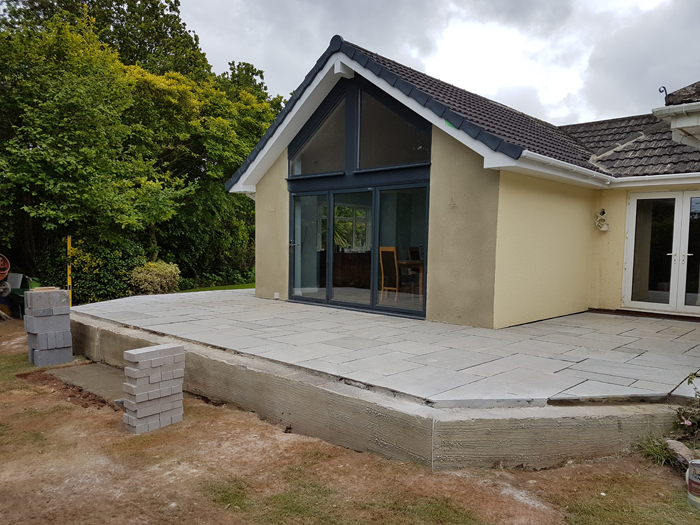 Torbay South Hams Builder - Gable extension 1