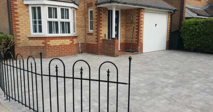 Churston Builders block paving 5