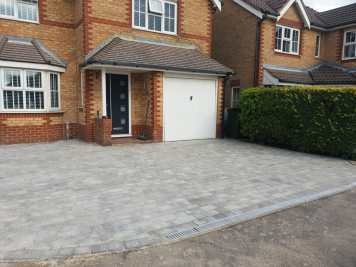Churston Builders block paving 12