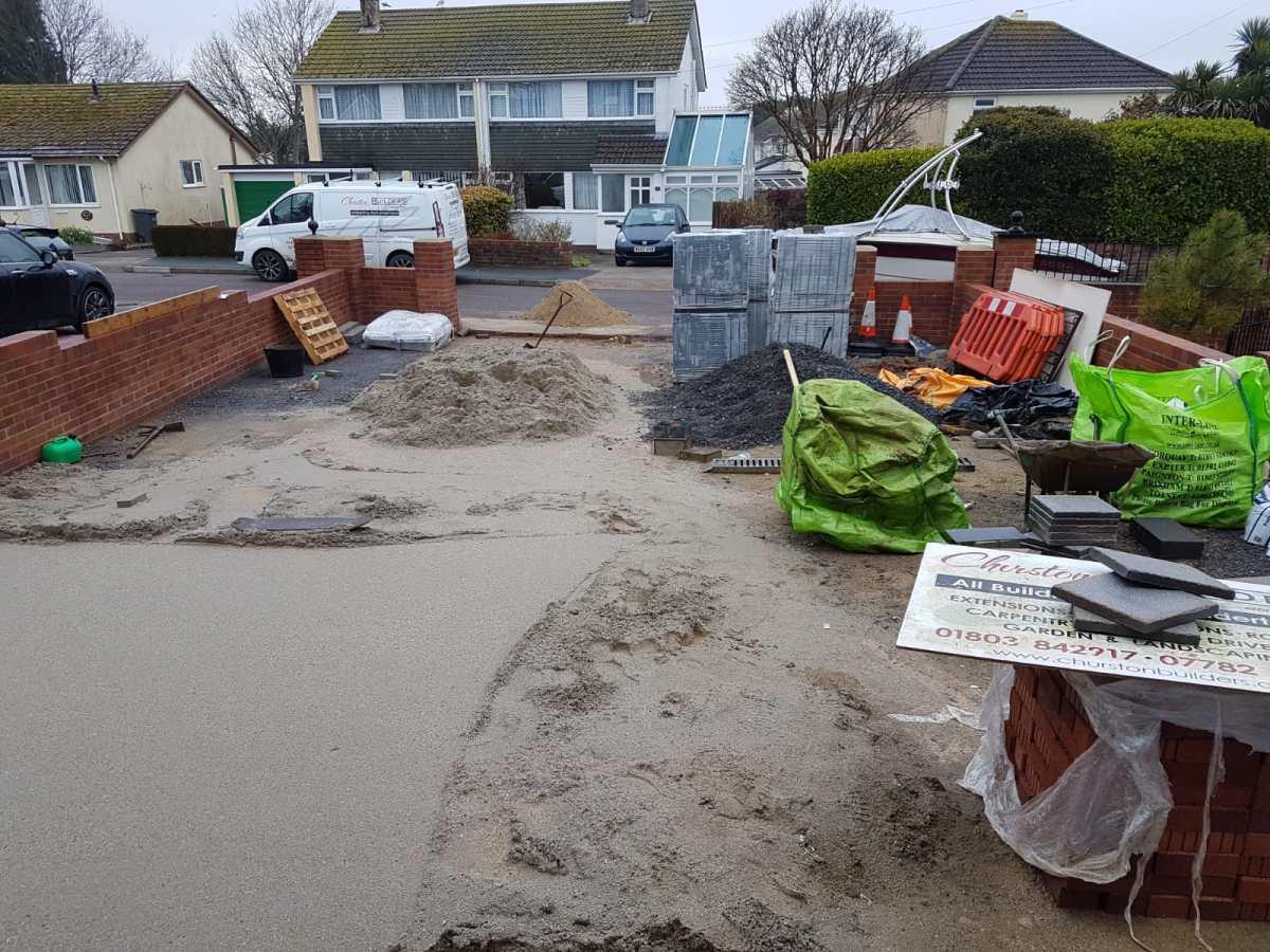driveway refurbishment Paignton 3