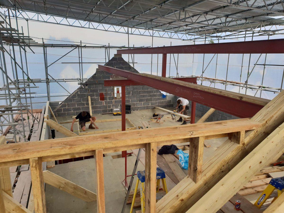 Paignton bungalow - structural steel