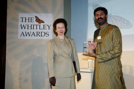 WFA - 0245 Awards ceremony - HRH and M. D. Madhusudan