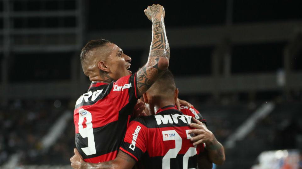 Guerrero comemora gol
