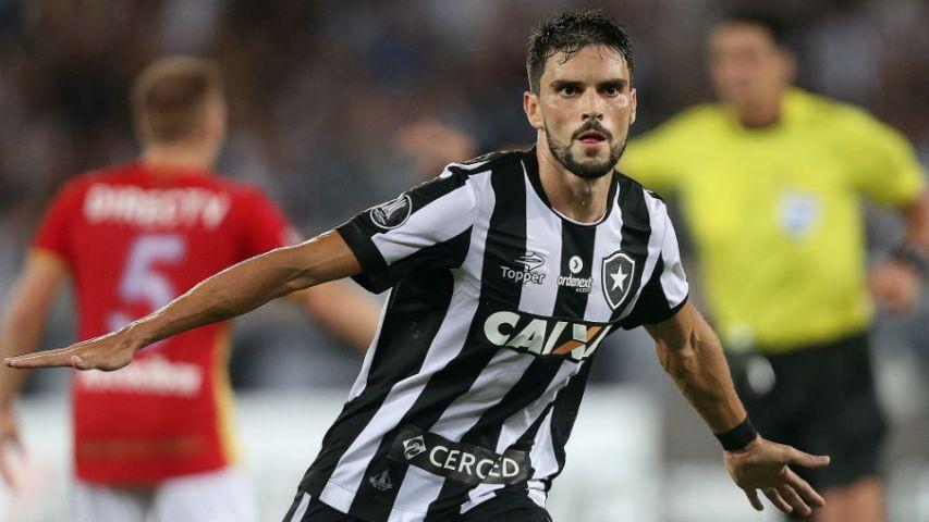 Pimpão gol Estudiantes 2017 Botafogo Libertadores