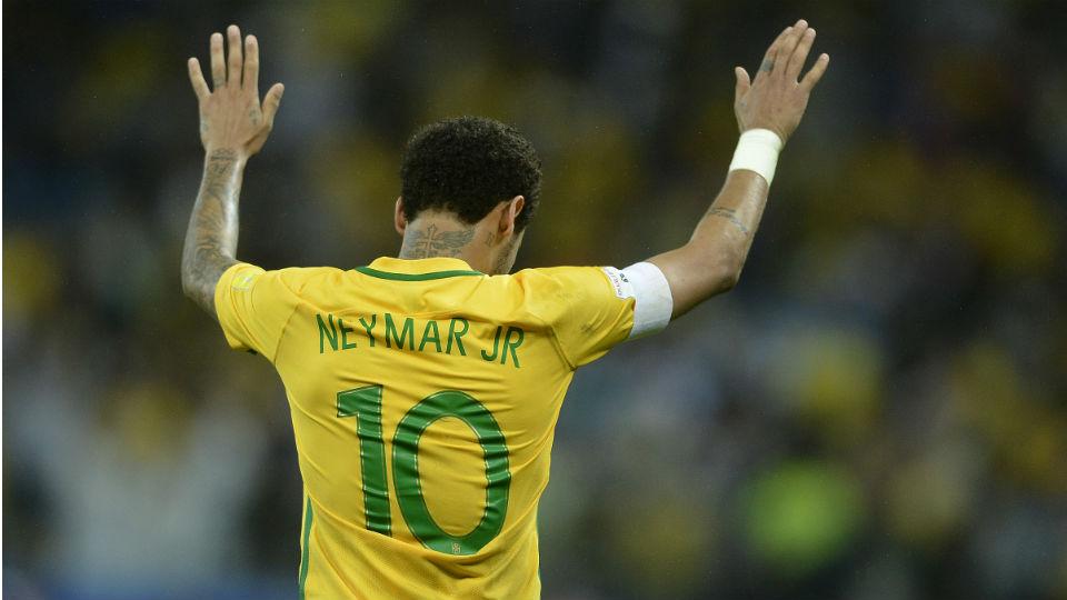 Neymar Brasil Paraguai Eliminatórias Seleção 2017 Arena Corinthians