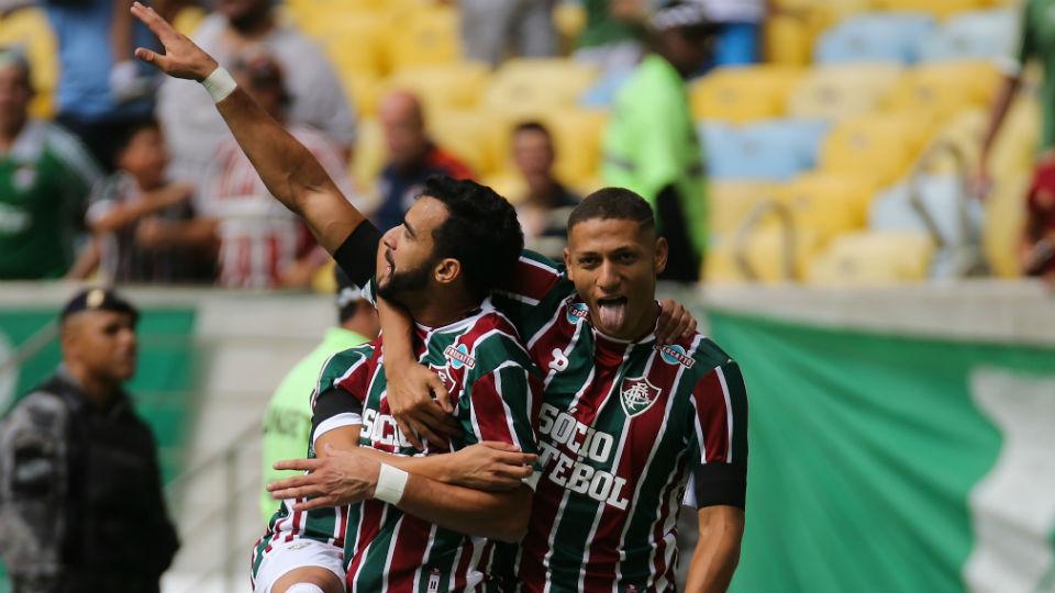 Richarlison Henrique Dourado Fluminense estreia Brasileiro 2017