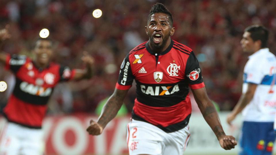 Rodinei Flamengo 2017 Maracanã Libertadores Universidad CAtólica