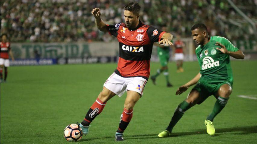 Diego Reinaldo Chapecoense Flamengo 2017 Arena Condá