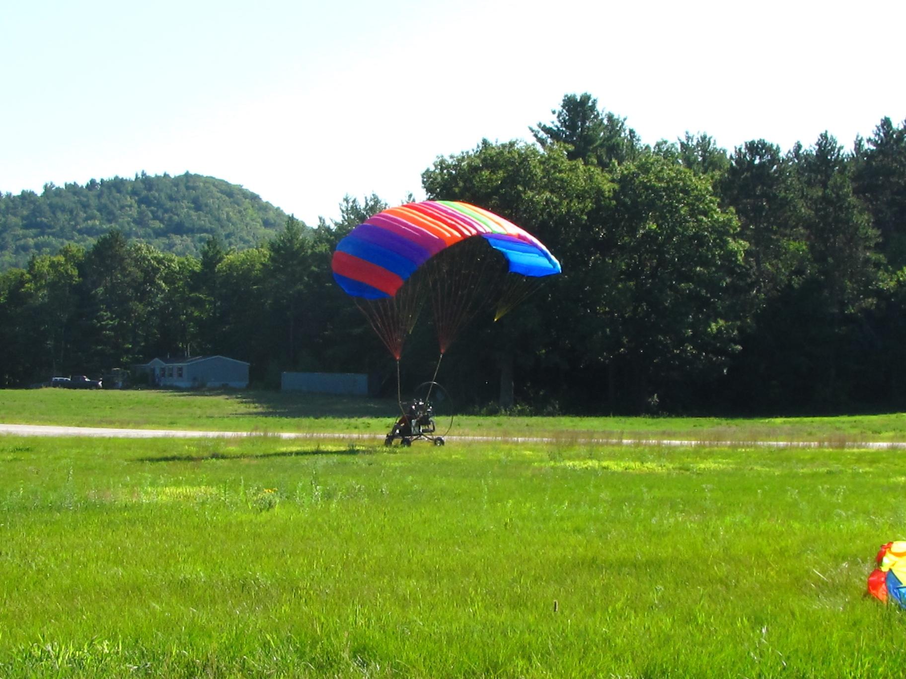 Sport Pilot Training Chutesup Powered Parachutes