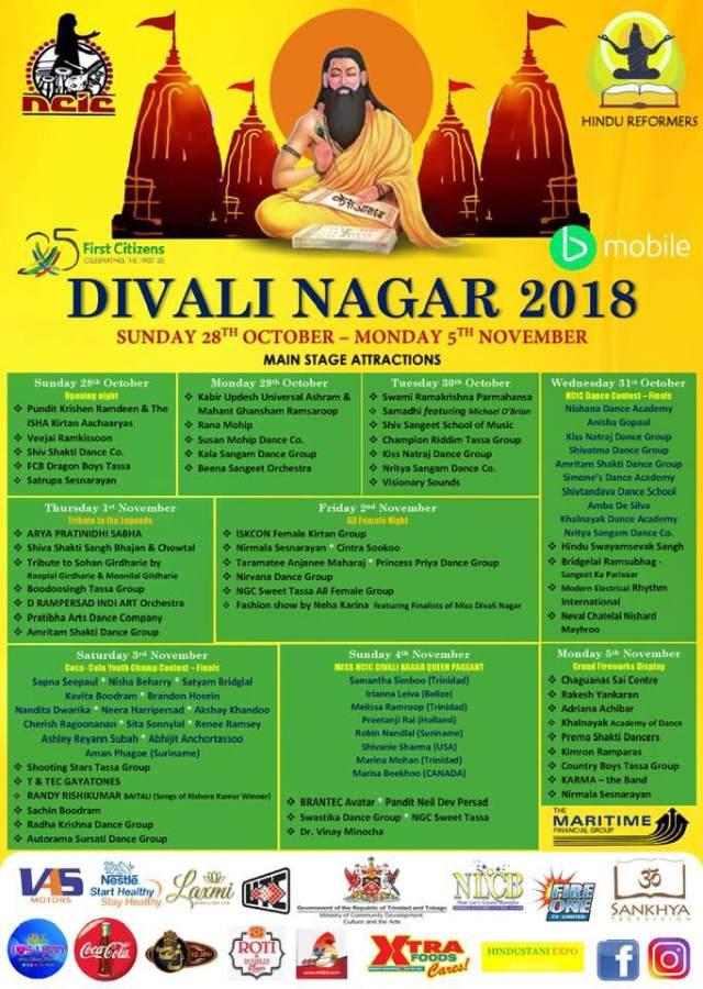 2018 Diwali Nagar Activities