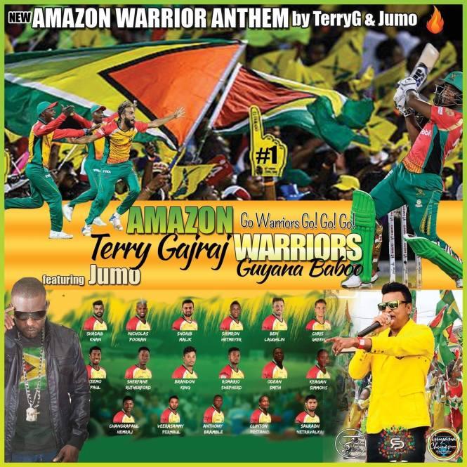 Amazon Warriors Anthem By Terry Gajraj & Jumo Primo