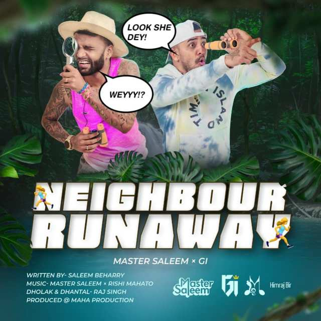 Chutney Soca 2020 Neighbour Runaway By Master Saleem Ft Gi