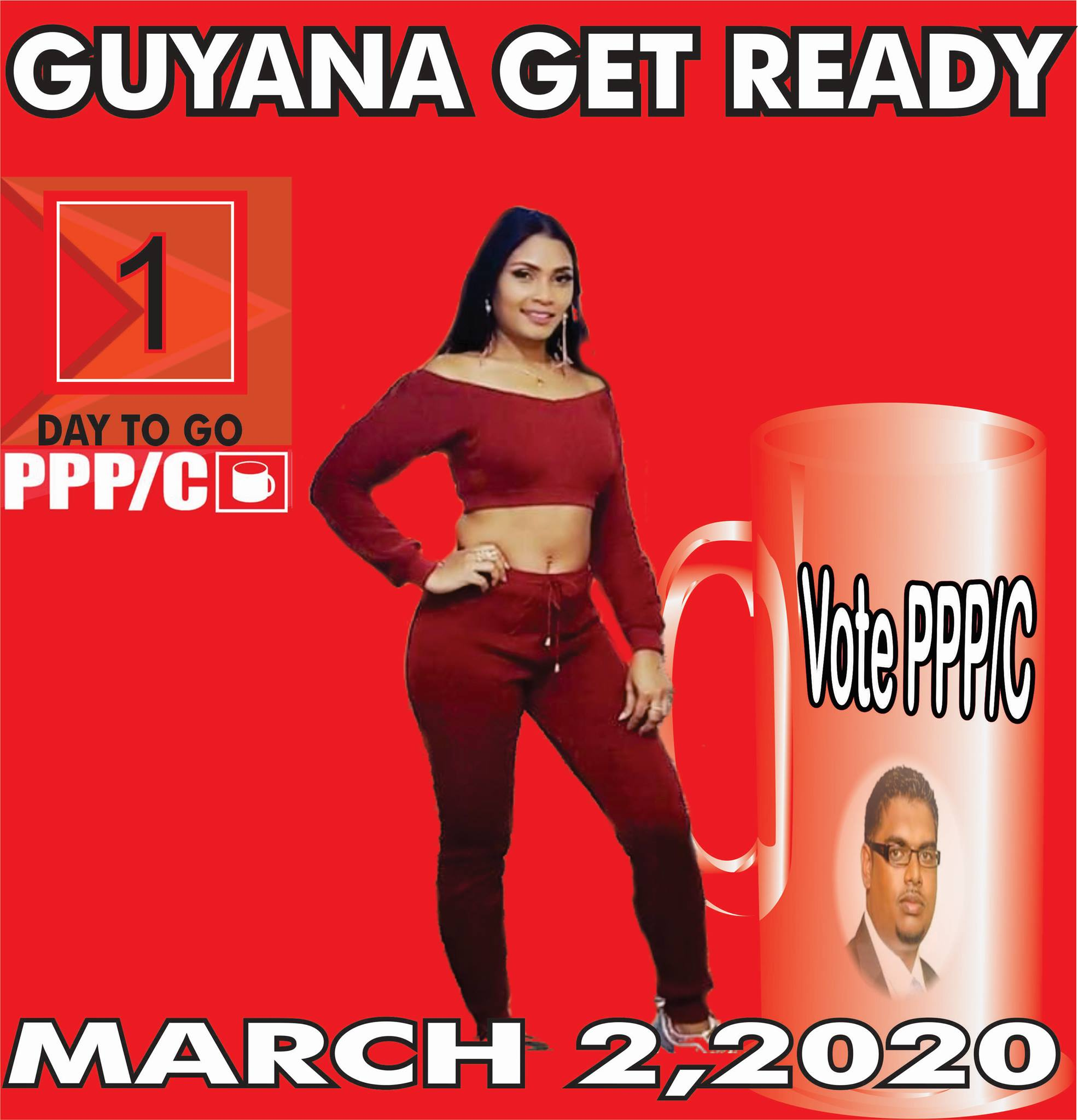 Guyanese Political Party uses Chutney Artist Image against her Wishes