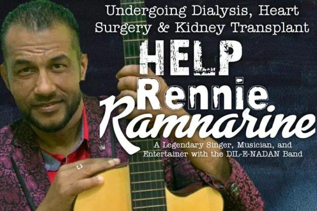 Help Rennie Ramnarine
