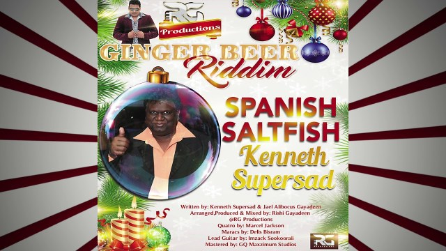 Kenneth Supersad - Spanish Saltfish