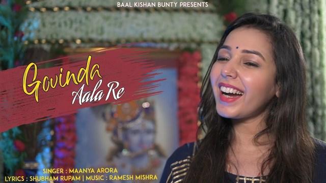 Maanya Arora - Govinda Aala Re