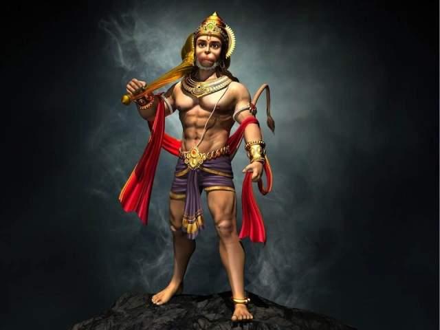 Mangalmurti Maruti Nandan Hanuman Bhajan Lyrics