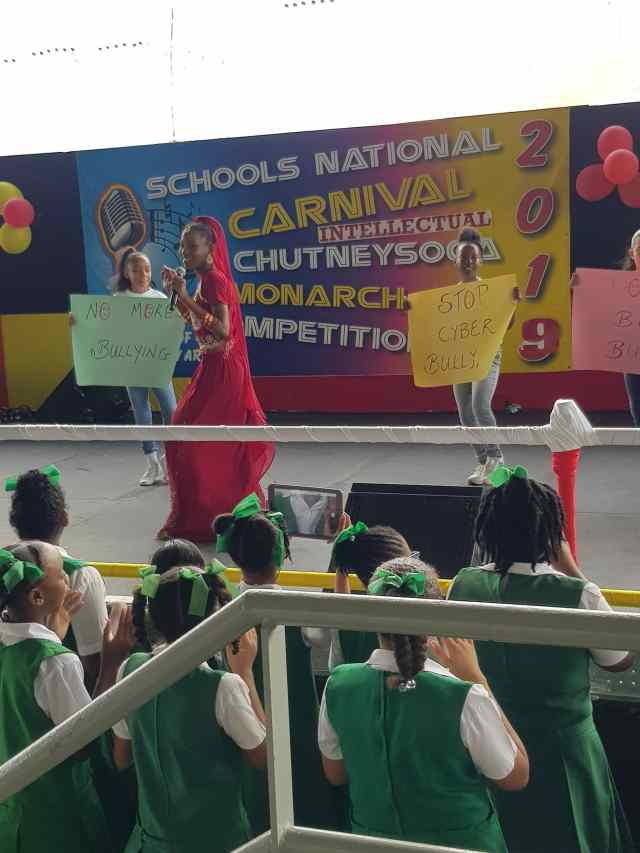 National Carnival Schools Intellectual Chutney Soca Monarch Competition 2019 Orange 2
