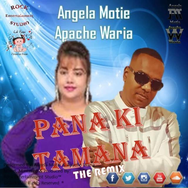 Pana Ki Tamana By Angela Motie & Apache Waria (2019 Bollywood Cover)