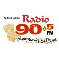 RADIO-90.5 FM-THE-PEOPLE'S-STATION-Trinidad-Tobago