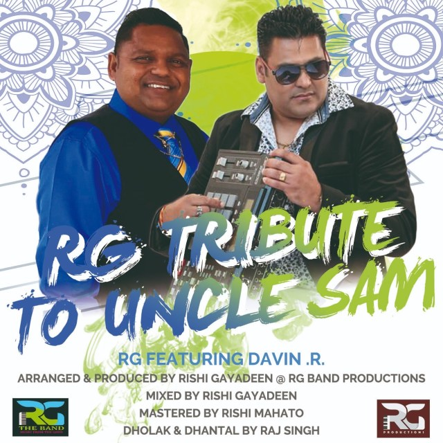 Rg Band Ft Davindra Ramdath Rg Tribute To Uncle Sam Boodram
