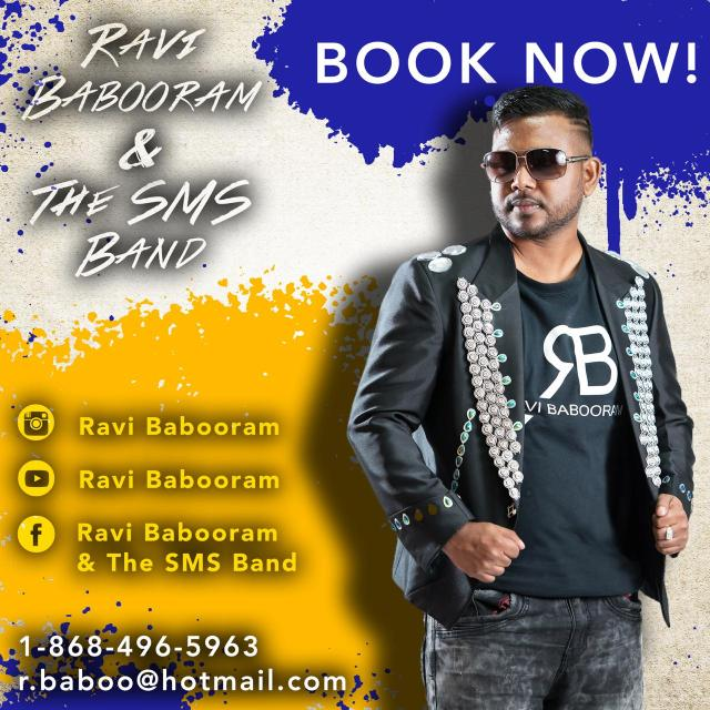 Ravi Babooram Booking Information Trinidad