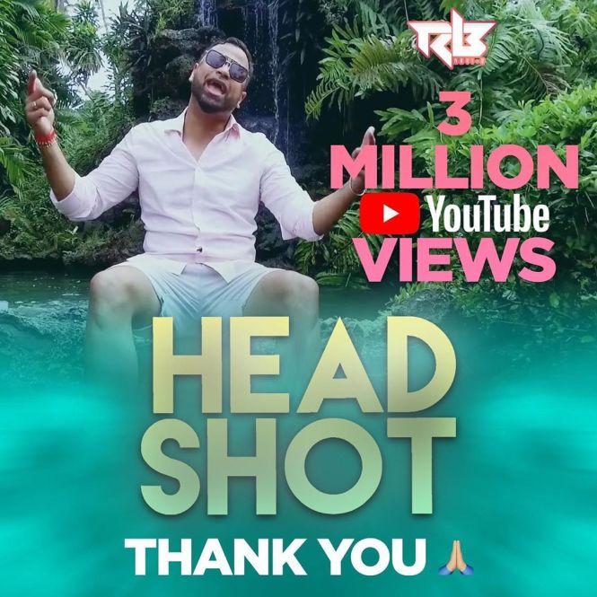 Ravi B's Headshot Get 3 Million Views