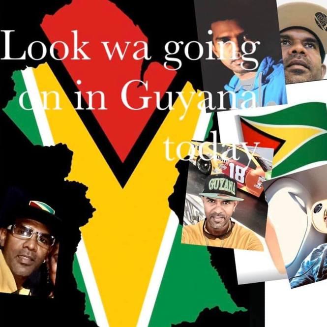 Satish Udairam Look What Going On In Guyana!