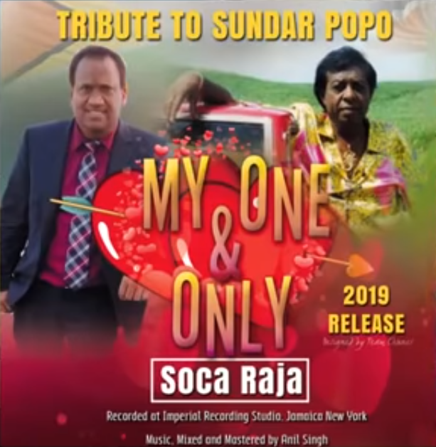 Soca Raja My One And Only (2019 Sundar Popo Cover)