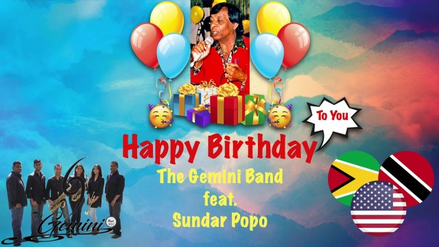 Sundar Popo - Happy Birthday to You